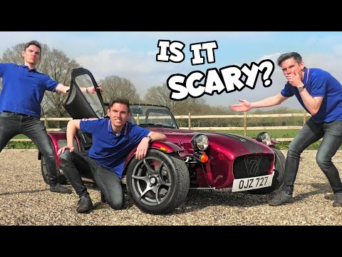 Wrestling With the Caterham 420R - YOU HAVE TO TRY THIS!