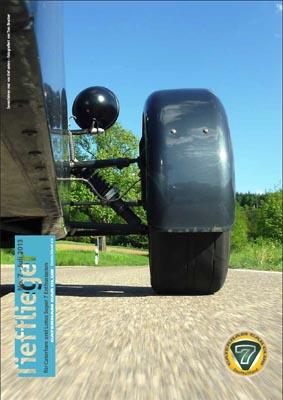 Titelbild Markenclubzeitschrift Tiefflieger No. 7