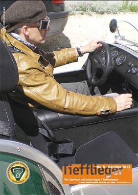 Titelbild Markenclubzeitschrift Tiefflieger No. 8