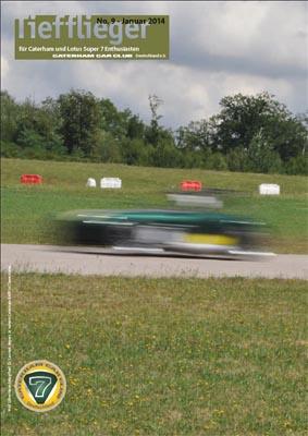 Titelbild Markenclubzeitschrift Tiefflieger No. 9