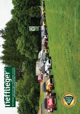 Titelbild Markenclubzeitschrift Tiefflieger No. 11