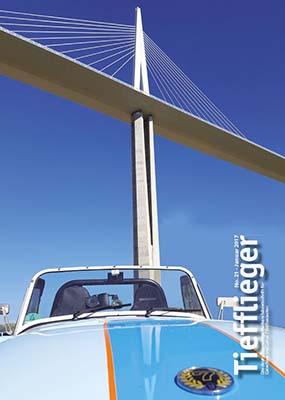 Titelbild Markenclubzeitschrift Tiefflieger No. 21