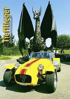 Titelbild Markenclubzeitschrift Tiefflieger No. 25